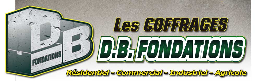 Les coffrages DB Fondations